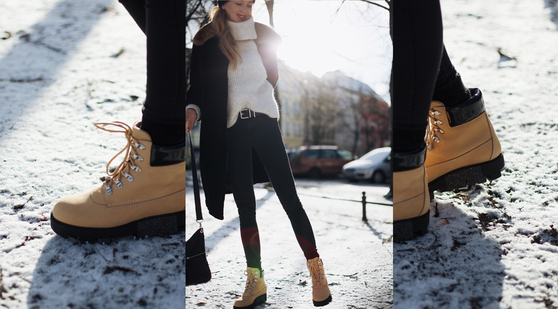 1c51533d3e2 OOTD: First Snow with Acne Studios Boots - JORINNA.style