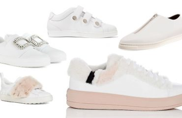 White is more popular than any other color, when it comes to sneakers.