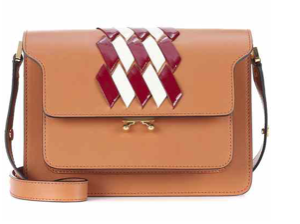 Trunk leather shoulder bag € 1.590