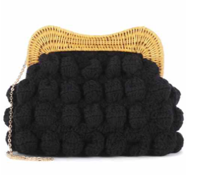 Hurricane crochet clutch € 193