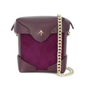 Mini purple pristine shoulder bag € 385