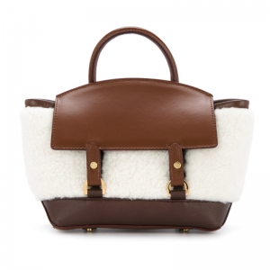 fluffy top handle mini bag € 1.160